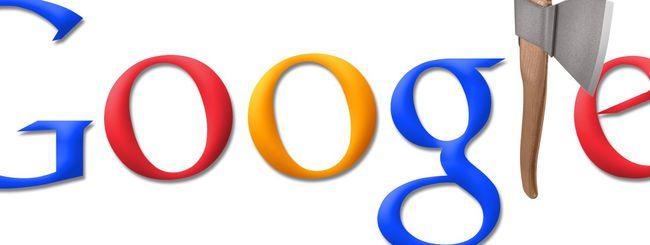 Google, penalizzazioni in arrivo in Italia