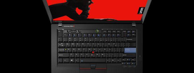 Lenovo annuncia il ThinkPad Anniversary Edition 25
