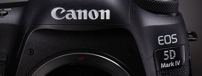 Canon presenta la nuova reflex EOS 5D Mark IV