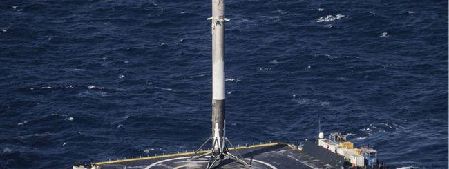 SpaceX manda in orbita le ceneri di 152 persone