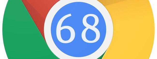 Chrome 68 in download: le novità del browser