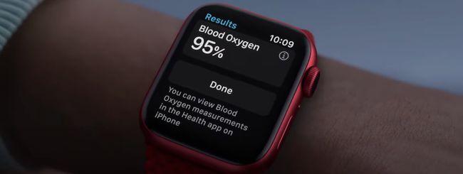 Apple Watch Series 6: Livelli O2 non disponibile in tutti i paesi