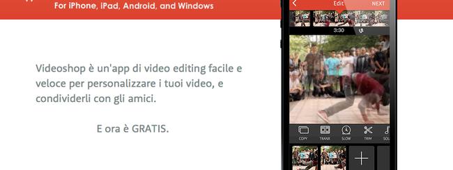 Videoshop: scaricare gratis l'app di videoediting per iPhone e iPad