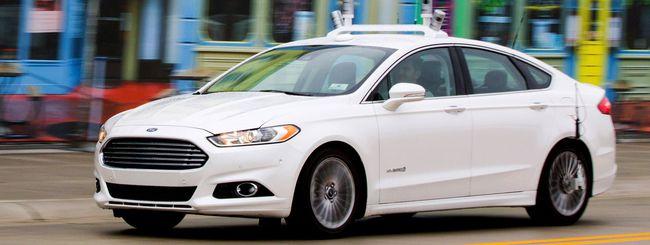 Ford: test per la guida autonoma a Mcity