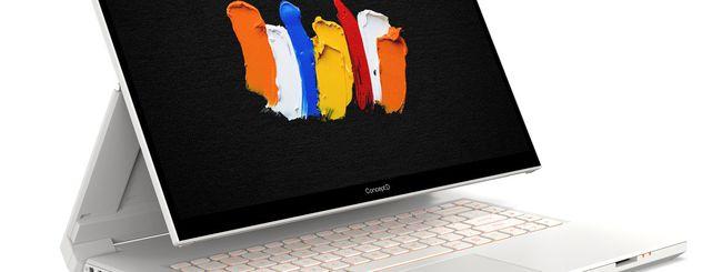 CES 2020: Acer ConceptD 7 Ezel, Spin e Swift