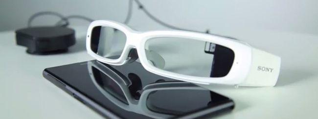 MWC 2014: la risposta di Sony ai Google Glass