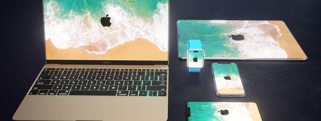 iMac, MacBook, iPad e Apple Watch: e se avessero il design di iPhone X?