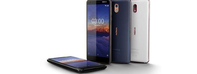 Nokia 3.1 in vendita nei negozi italiani