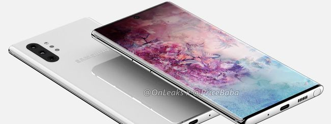 Samsung Galaxy Note 10, niente pulsanti touch