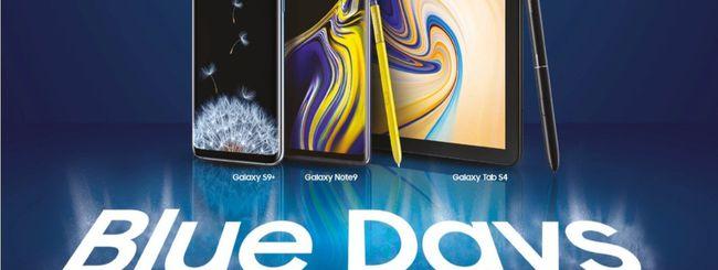 Samsung Blue Days, sino a 200 euro di rimborso