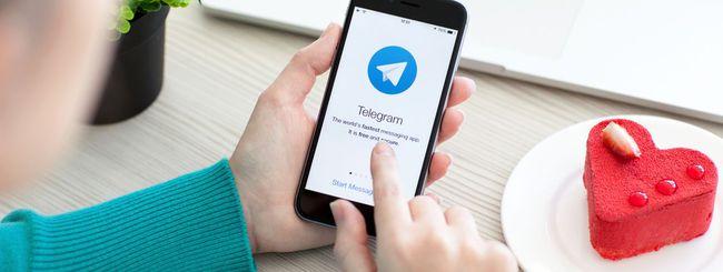 Telegram rimuove il limite per cancellare i messaggi