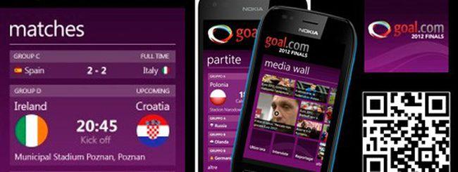 Europei, Goal.com 2012 Finals per Nokia Lumia