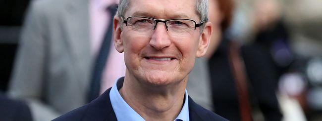 Tim Cook: premio per i 40 anni di Apple in Irlanda