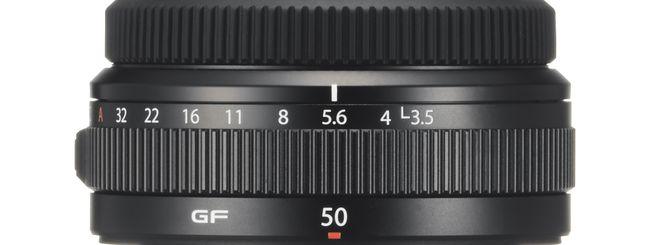 Fujifilm annuncia due nuove ottiche: il Fujinon GF 50mm f/3,5 e l'XF 16-80mm f/4