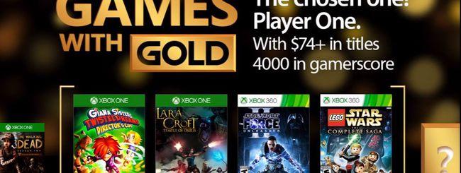 Xbox Games With Gold, i titoli di maggio 2017