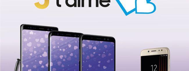 Samsung regala un Galaxy J3 2017 per San Valentino