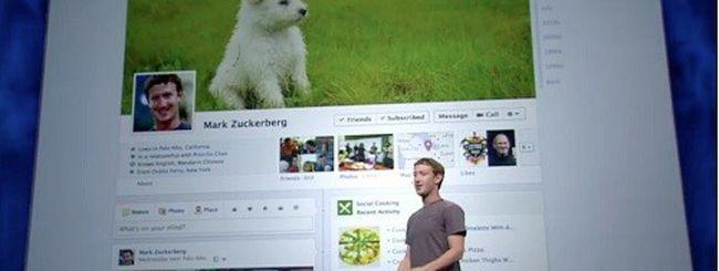 Timeline di Facebook arriva anche per le aziende