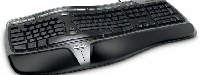 Microsoft Classic Ergonomic Keyboard: nuova versione il 2 ottobre