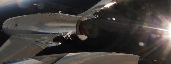 Virgin Galactic pronta a raggiungere lo spazio