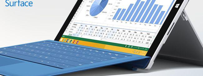 Microsoft sconta il Surface Pro 3
