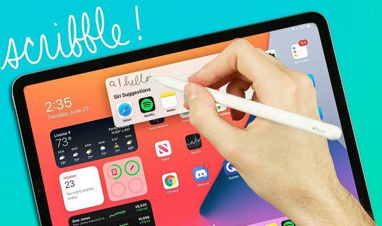 iWork per iOS: arrivano Scribble, riconoscimento forme e altro
