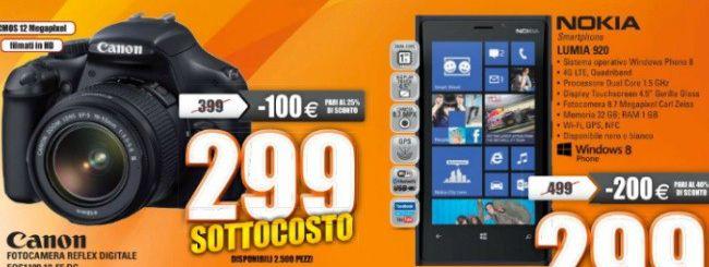 Sottocosto Expert: Nokia Lumia 920 a 299 euro