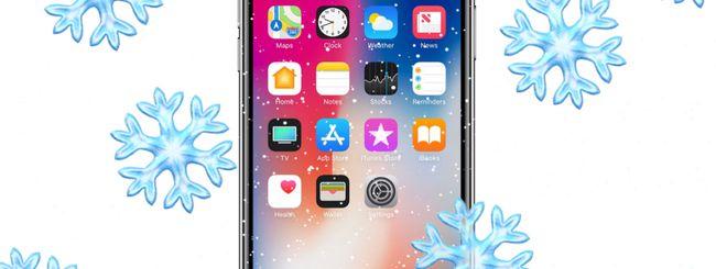 iPhone X non funziona al freddo: iOS 11.1.2 risolve il problema