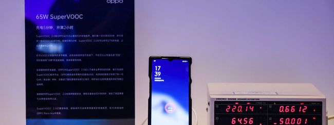 Oppo annuncia tre nuove tecnologie Flash Charge