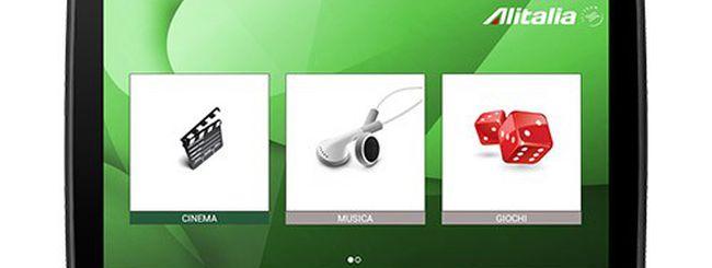 Motorola XOOM 2 sui voli Alitalia