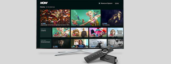 NOW TV cambia nome e sbarca sui dispositivi Fire TV di Amazon