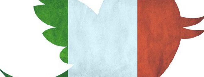 Twitter alla conquista dell'Italia: +111% in un anno