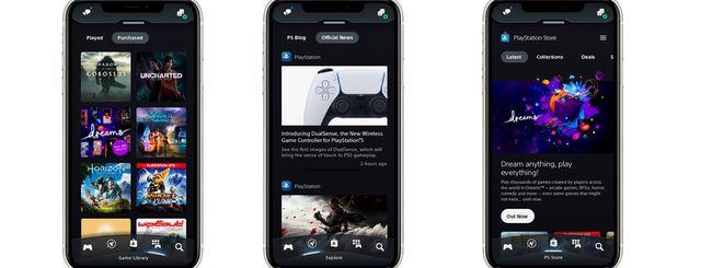L'app PlayStation si aggiorna e diventa finalmente utile