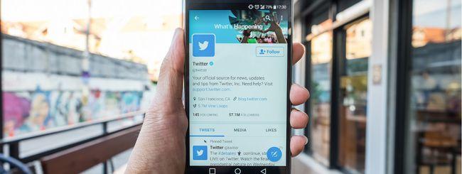 Twitter, i 280 caratteri si possono bloccare