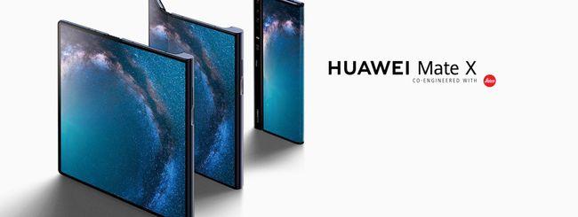 Huawei Mate X premiato al MWC 2019