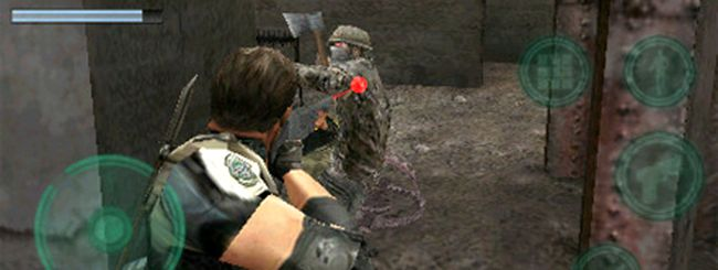 Resident Evil Mercenaries VS. su iPhone, iPod touch e iPad