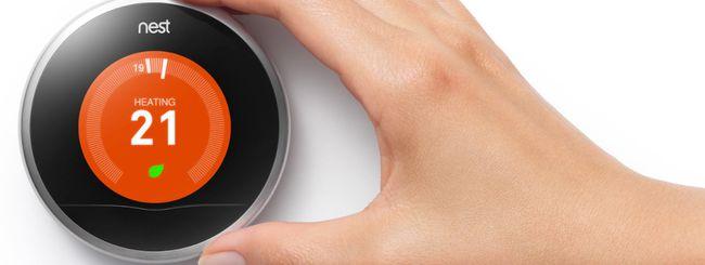 Nest, nuovo update per il termostato smart