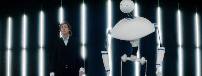 Un robot per il nuovo video di Paul McCartney
