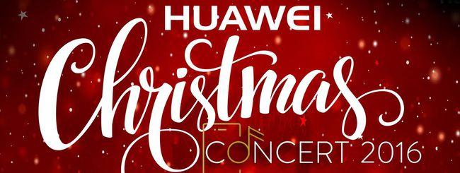 Huawei Christmas Concert: innovazione rock'n'roll