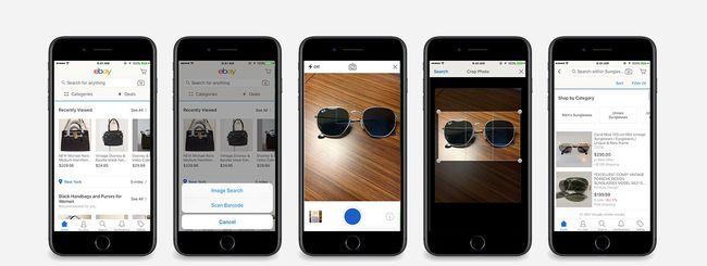 eBay, ricerca visuale per lo shopping