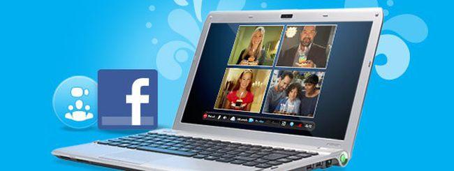 Skype 5 è ora amico di Facebook
