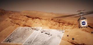 NASA, un elicottero su Marte