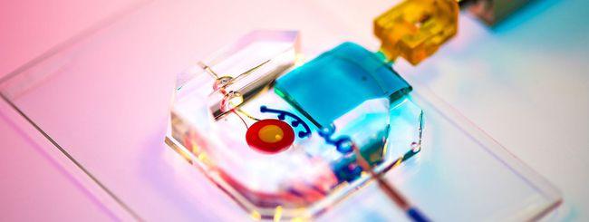 Creato l'occhio artificiale su chip