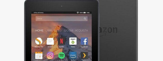 Amazon Fire 7 e HD 8, Alexa in modalità hands-free