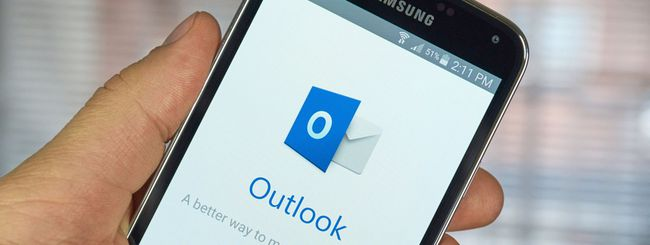 Outlook per iOS e Android, ricerca intelligente