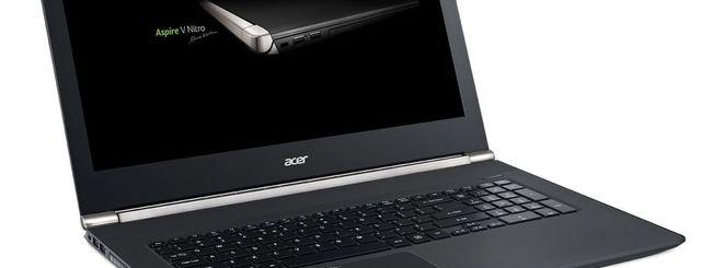 CES 2015: Acer Aspire V 17 Nitro con RealSense 3D