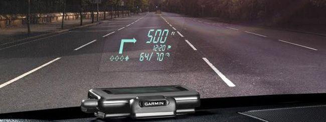 Garmin HUD: indicazioni stradali sul parabrezza