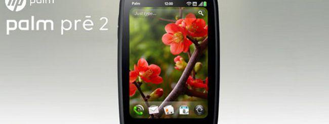 HP annuncia WebOS 2.0 e Palm Pre 2