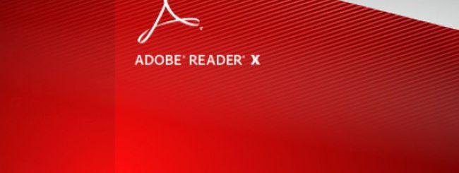 Adobe Reader X, una falla da 50 mila dollari