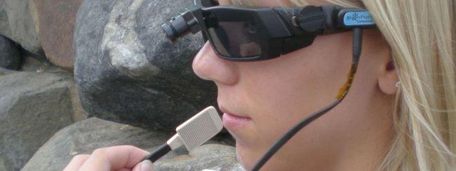 BrainPort V100, occhiali per vedere con la lingua