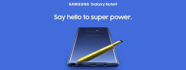 Samsung Galaxy Note 9, video ufficiale su YouTube